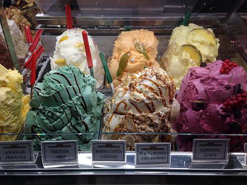 scoop of ice creams