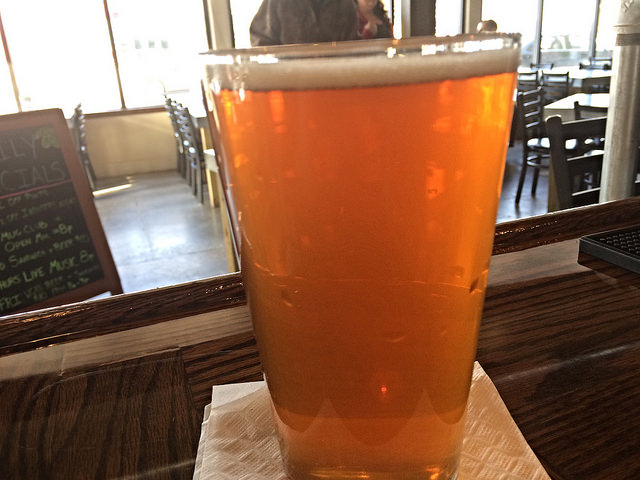 beer at elk brewing