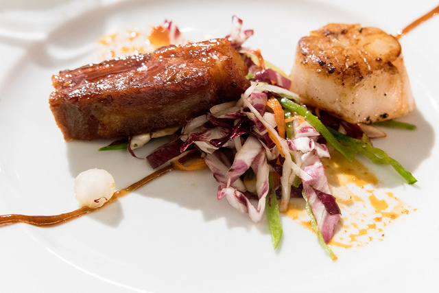 Pork Belly and Scallop